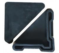 Подпятник для стойки стеллажа складского металлического МКФ