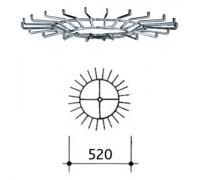 Круг для вешала для ремней 266/1 (Артикул: 266/G)