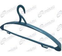 Вешалка для одежды Пластмассовая «Зима» цвет голубой (Арт.BT.12 Гол)