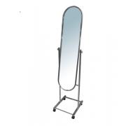 Зеркало напольное на колесах. Хром (Артикул: UT3080CH)
