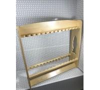 Стойка для удочек и спиннингов деревянная СТУД 9/1.