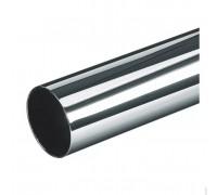 Труба хромированная D=50 мм. Толщина стенки: 1,0 мм (Арт.JR-04_50 мм.)