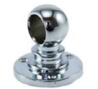 Крепёж-держатель трубы d=10mm, дистанционный, торцевой. (Артикул: 2855.10.)