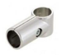Крепеж-соединитель двух труб d=32 мм под прямым углом. (Артикул: Jr-06.32)