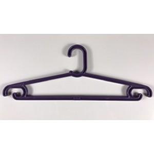 Вешалка пластиковая для одежды, подростковая L=345mm. (Артикул: ВП01/П)