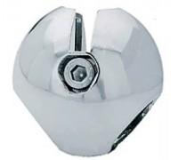 Крепеж-соединитель 2-х труб (d=25mm) перпендикулярно. (Артикул: Jr-03.)