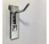 Крючок на торговую решетку. L=50mm, d=5mm. (Артикул: SMH50 d5)