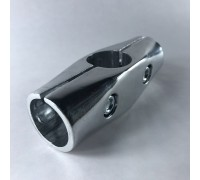 Крепёж-соединитель трёх труб d=32mm крестообразно (Артикул: Uno-3.32)