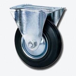 Колесо промышленное НЕПОВОРОТНОЕ D=100мм (Арт.4002100)