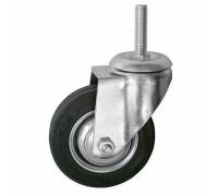 Колесо промышленное ПОВОРОТНОЕ Резьба:М12 D=85мм (Арт.4008085)