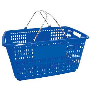 Корзина покупательская БЕЗ пластика на ручках (Арт.PL.210.БСн)