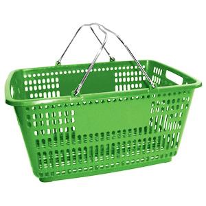 Корзина покупательская БЕЗ пластика на ручках (Арт.PL.210.БЗл)