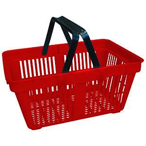 Корзина покупательская для торгового зала (Арт.PL-702/К)