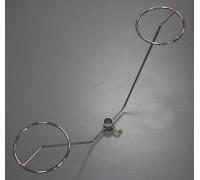 Шапочные кольца под трубу 25мм (MS.21)
