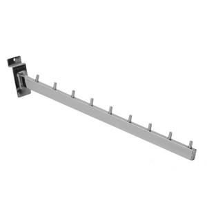 Кронштейн для экономпанелей наклонный 9 штырьков (Арт.8602В)