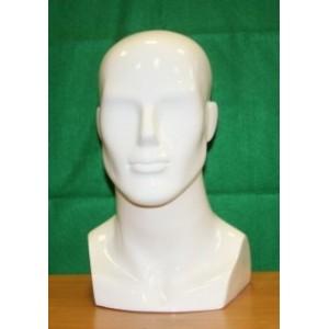 Голова мужская Цвет:Белый (Арт.GMTS.6)