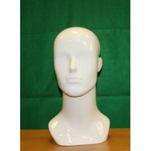 Голова мужская цвет:Белый (Арт.GMTS.7)