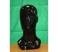 Голова мужская цвет:Черный (Арт.GMTS.7)