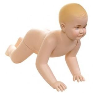 Манекен детский 6-12 месяцев с макияжем (Арт.BABY03)