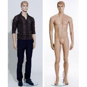 Манекен во весь рост мужской с макияжем (Арт.IM7200B0)