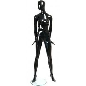 Манекен женский Цвет: Черный ГЛЯНЕЦ (Арт.BETT.03)