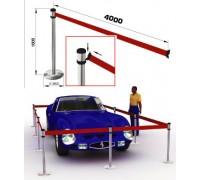 Столбик ограждения усиленный с лентой 4м (Арт.RSA4SR)