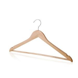 Плечики для одежды деревянные L=440мм (Арт.C30N)