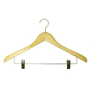 Плечики для одежды деревянные L=460мм (Арт.WS009/1)