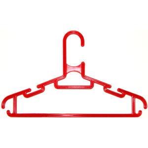 Детская вешалка для одежды L=280мм Красная (Арт.P115/1)