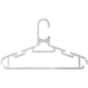 Детская вешалка для одежды L=280мм Прозрачная (Арт.Р128)