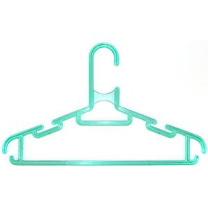 Детская вешалка для одежды L=280мм Зеленая (Арт.P115/2)