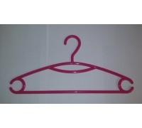 Вешалка для одежды пластиковая Красная L=395мм (Арт.P215)