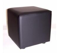 Пуфик квадратный 400х400мм Цвет: ЧЕРНЫЙ