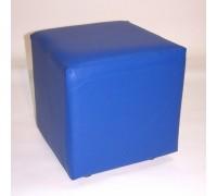 Пуфик квадратный 400х400мм Цвет: СИНИЙ