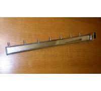 Кронштейн для овальной трубы наклонный Длина:400мм (Арт.U646)