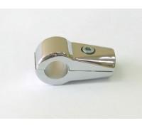 Крепеж-соединитель двух труб d=16mm перпендикулярно. (Артикул: Uno-21.16.)