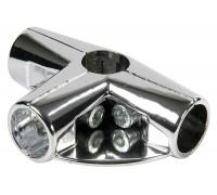 Соединитель четырех труб. (Артикул: Uno-8.)