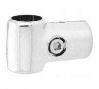 Крепеж-соединитель труб d=32 и d=25 мм под прямым углом. (Артикул: Jr-66.32)