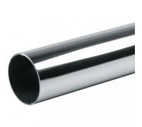 Труба хромированная D=50 мм. Толщина стенки: 0,9 мм. (Арт.JR-04_50 мм)