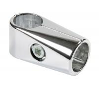 Крепеж-соединитель труб d=25mm под прямым углом, одинарный. (Артикул: Uno-1.)