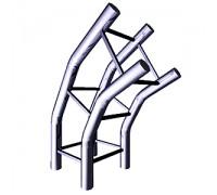 Соединитель четырех труб 120 градусов (Арт.TRX052)