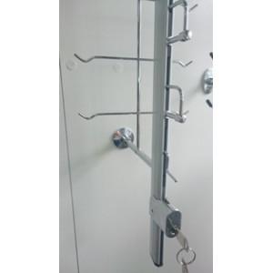 Стенд для очков пристенный с замком Вместимость:16шт (Арт.HG518)