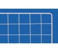 Решетка торговая 1800х800мм. Белая. (Артикул: ST01T)