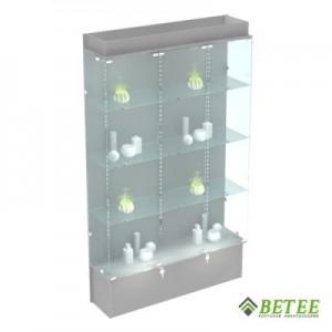 Магазинная витрина с подсветкой 200х120х30см (Арт.S703)