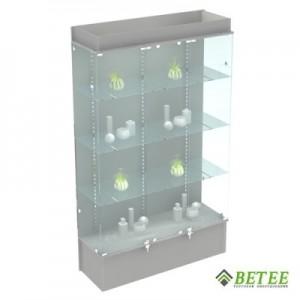 Торговое оборудование витрина с подсветкой 200х120х40см (Арт.S803)