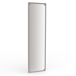 Зеркало для стены навесное Каркас: Нержавейка H=1600мм L=450мм (Арт.NC112.5)