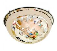 Зеркало обзорное потолочное 1/2 сферы (Арт.CMD65F)