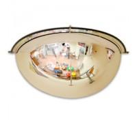 Зеркало обзорное пристенное 1/4 сферы (Арт.CMDU60H)