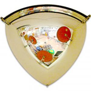 Зеркало обзорное угловое 1/8 сферы (Арт.CMDU60Q)