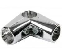 Крепеж-соединитель трех труб d=32 мм. Угловой (Артикул: Uno-4.32)